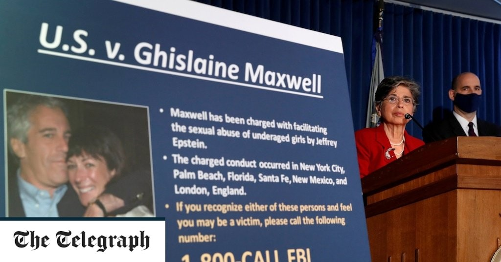 Ghislaine Maxwell 'wrapped her phone in tin foil' as prosecutors reveal heiress's attempt to escape FBI