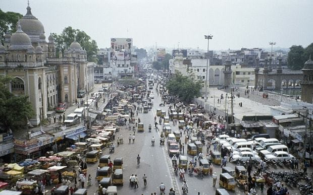 Hyderabad, India: on the trail of the White Mughals