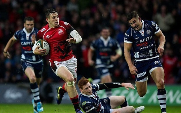London Welsh take firm control of play-off final with victory over Bristol