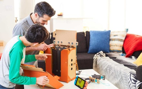 Nintendo Labo | Hands-on with the Switch's brilliant and barmy cardboard toys