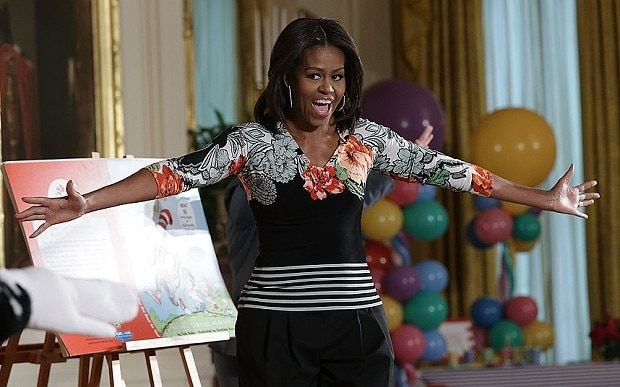TV star sacked for saying Michelle Obama looked like Planet of the Apes character