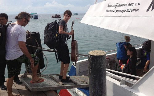 Terrified Briton flees Thai island after 'mafia' death threat