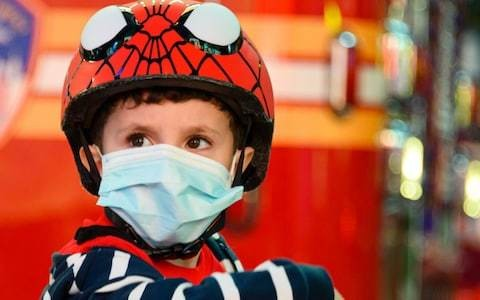 Coronavirus latest news: Wearing face masks at home might help stop families becoming infected