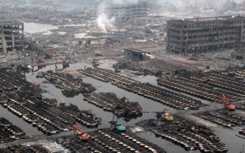 Chinese chemical factory boss given suspended death sentence, as 48 others are jailed over blasts that killed 165 in Tianjin