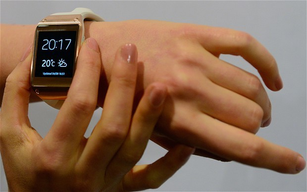 Invest £100 ... in a smartwatch