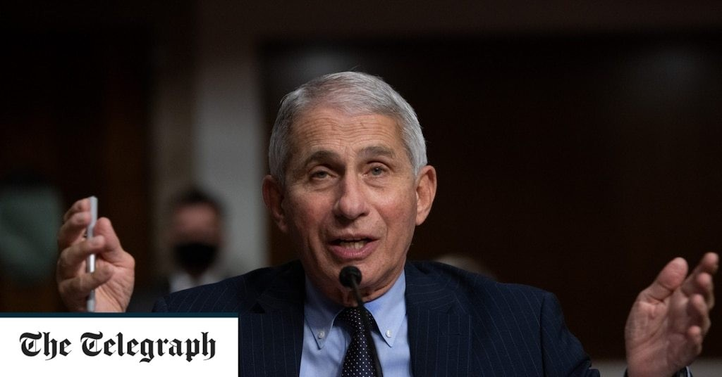 Dr Anthony Fauci warns US will not be back to normal until end of 2021