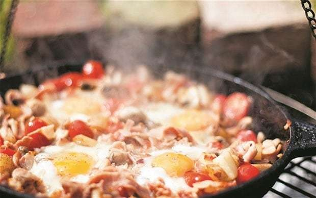 One-pan breakfast recipe