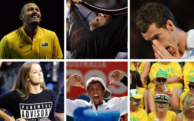 Australian Open 2018: A to Z of first grand slam of the year - blubbering wrecks, gobby girlfriends and questionable dress sense