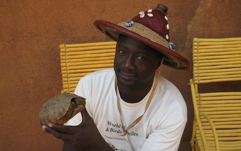 Meet the man who has dedicated his life to saving Africa's reptiles
