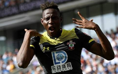 Moussa Djenepo opens Southampton account to sink 10-man Brighton