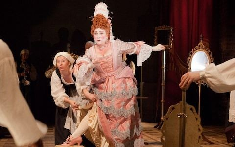 The Provoked Wife review, RSC Swan, Stratford upon Avon: Caroline Quentin is a joy in this a provocative, queasily enjoyable evening