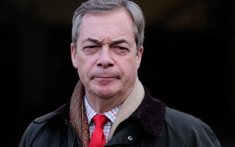 Nigel Farage reveals Brexit Party will change its name if Britain leaves the EU on Jan 31