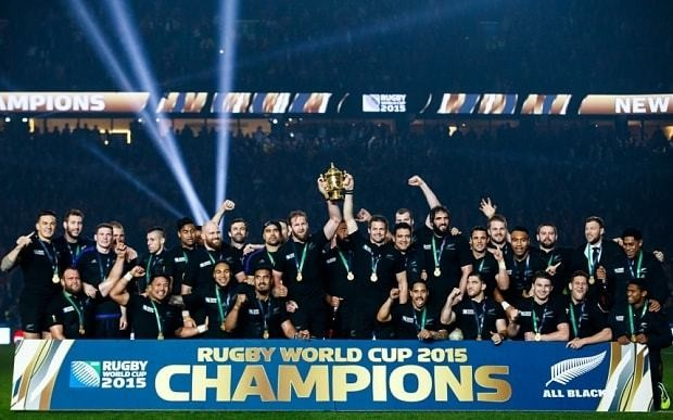 Victorious All Blacks vow to raise the bar even higher at Japan 2019 by winning their third consecutive title