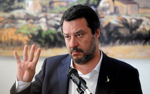 Salvini criticised after snubbing annual celebration of Italy's ovethrow of fascism