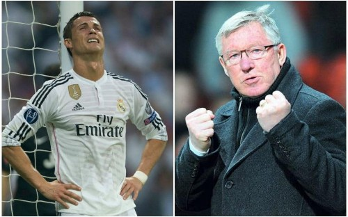 How Cristiano Ronaldo was reduced to tears by Sir Alex Ferguson