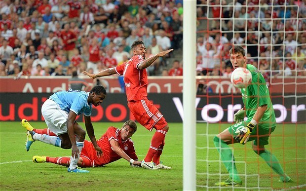 Bayern Munich come from behind to beat Manchester City 2-1 and win the Audi Cup