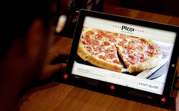 Pizza Hut's crazy new menu lets you order with your mind