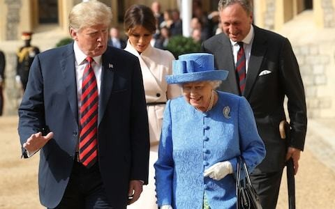 Duke of Sussex will join Queen as she hosts lunch for Donald Trump at Buckingham Palace