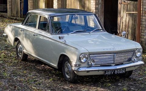 UK's rarest cars: 1963 Vauxhall Cresta PB, one of only five left on British roads