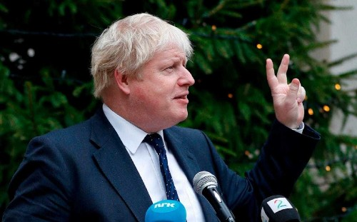 Boris Johnson fires warning shot at Theresa May as he says 'whole of UK must take back control' after Brexit