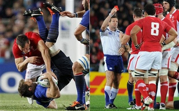 Wales captain Sam Warburton: reunion with tip tackle referee Alain Rolland will not faze me