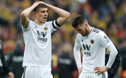Wolves captain Conor Coady spurred on to defeat Watford as he admits FA Cup heartbreak will 'haunt' him forever