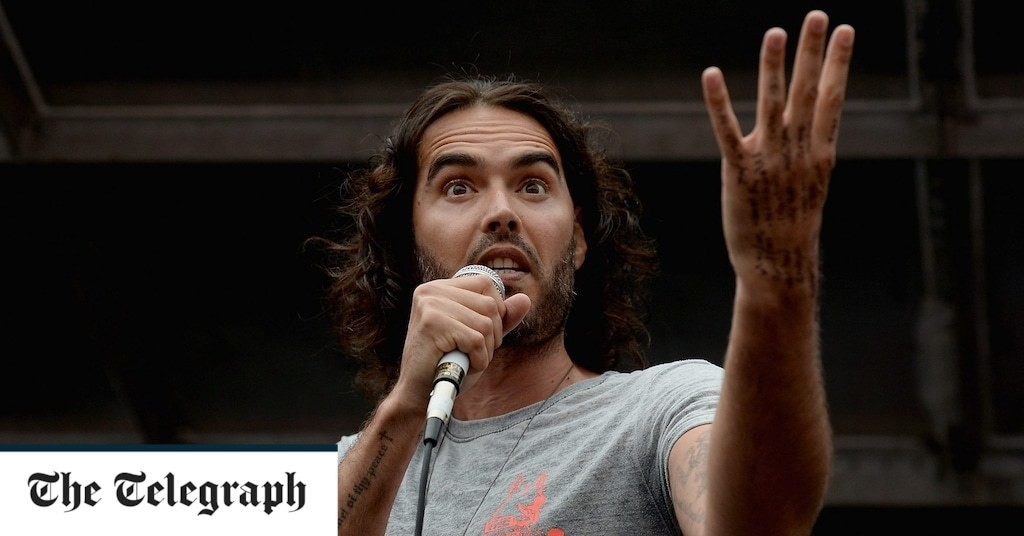 Russell Brand: Brandemic, Regent's Park Open Air Theatre, review: the comic seer's mumbo-jumbo works like a charm