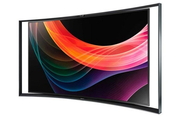 Samsung launches 55-inch curved TV in the UK