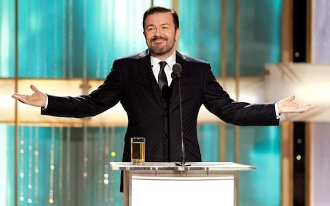 Buckle up, Hollywood hypocrites: the glorious history of Ricky Gervais's Golden Globes insults
