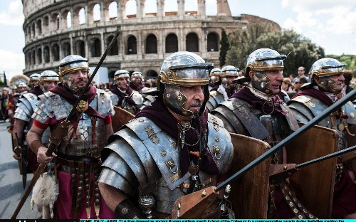 Archeologists exploring underground chamber discover sarcophagus linked to cult of Romulus, fabled founder of Rome