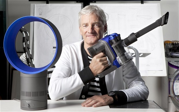 Sir James Dyson plans to make affordable household robots