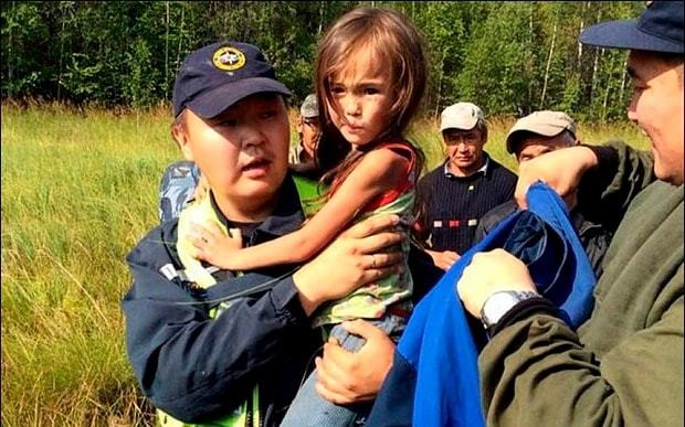 Four-year-old survives 11-day ordeal in bear-infested Siberian forest
