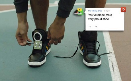 From Google Glass to the talking shoe