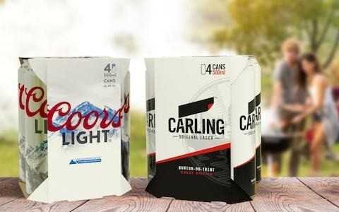 Carling beer to ditch plastic packaging to become more sustainable