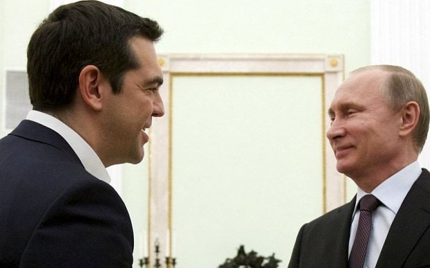 Greece should not fall into Vladimir Putin's clutches