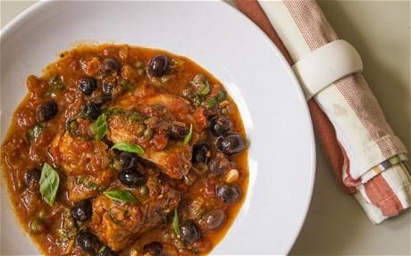 Speedy weeknight suppers: chicken puttanesca