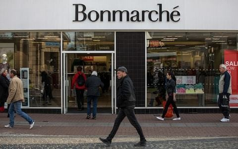 Bonmarché falls into administration in latest high street failure