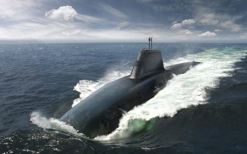 Britain's new ballistic missile submarines to get world-beating threat detection systems