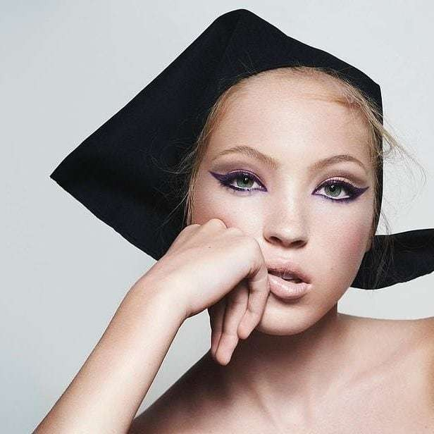 Lila Moss, Kate's 16 year-old daughter fronts her first beauty campaign. So is she set to be the next big supermodel?