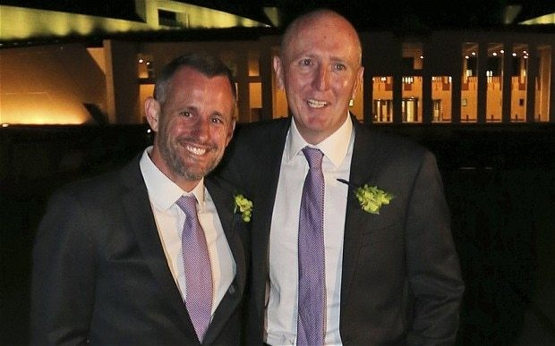 Australia celebrates its first gay marriages