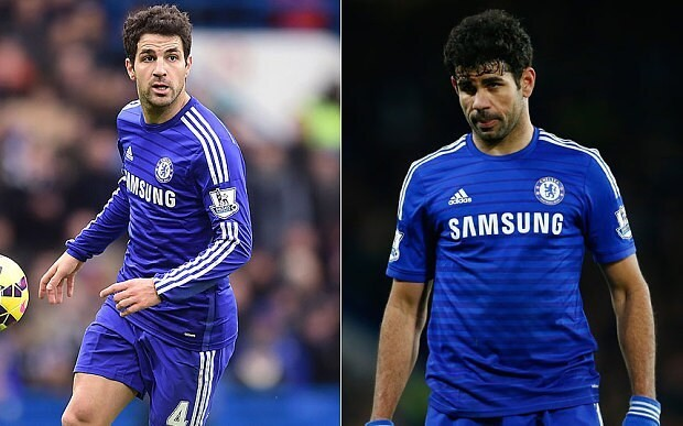 Chelsea sweat on Cesc Fabregas injury prior to Manchester City clash, with Diego Costa set to be banned