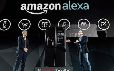 Amazon's Alexa appears in scores of new smart gadgets