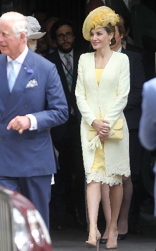 Queen Letizia of Spain channels the Duchess of Cambridge for her first appearance in the UK