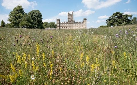Three gardeners and 1,000 acres of parkland: Inside 'Downton Abbey's' Secret Garden... and beyond