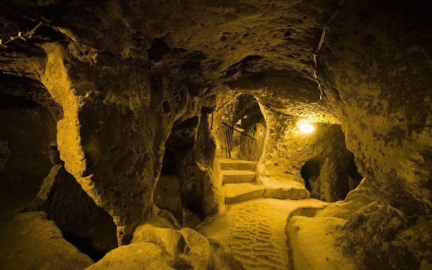 Inside the forgotten underground city that once housed 20,000 people