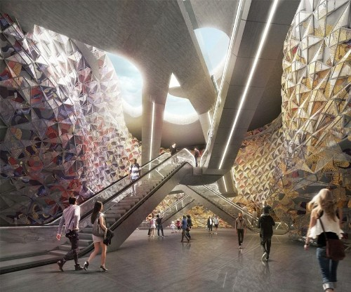 Metro stations of the future