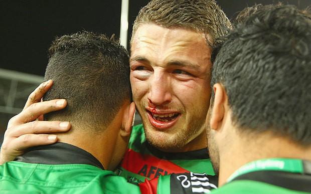 Sam Burgess 'saves man's life' in Australia