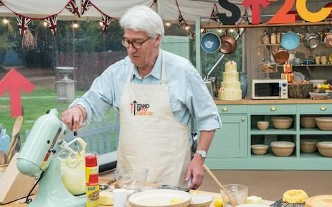 The Great Celebrity Bake Off, episode 4 recap: Paxman serves up a dog's dinner, while Hollywood hail's the gherkin biscuit