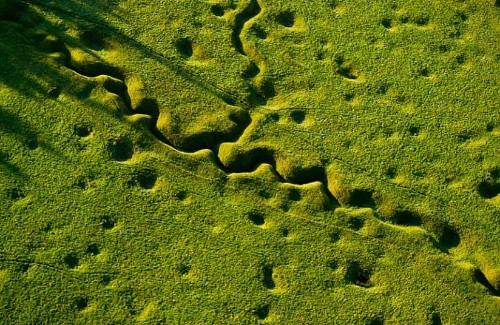 Scarred by war: Battlefield landscapes from First World War 100 years on - Telegraph
