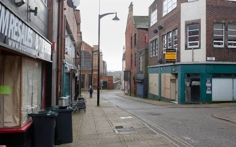 The British high street that became a ghost town